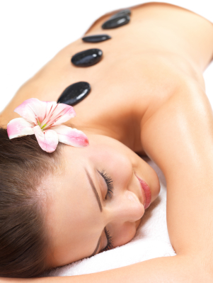 Hot Stones Massage at The Finishing Touch